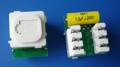 8606UK TM-6102 UTP RJ11 Voice 8606UK TM-6102 UTP RJ11 Phone Voice keystone jack - RJ11/12 (CAT3) Voice Keystone Jacks made in china