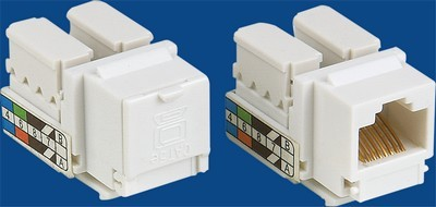 China manufacturer  TM-8005.Cat.5E Network Data keystone jack  corporation