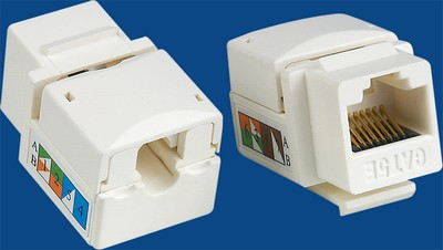 China manufacturer  TM-8009 Cat.5E Network Data keystone jack  company