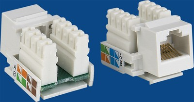 China manufacturer  TM-8016 Cat.5E RJ45 Socket Data keystone jack  distributor