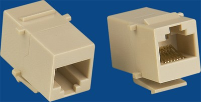 manufactured in China  TM-8018 Cat.5E Rj45 Connectors Network Data keystone jack  company