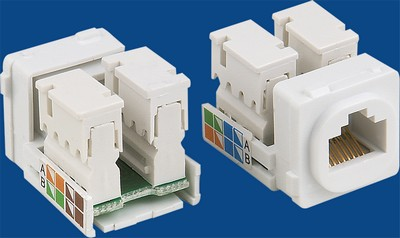 China manufacturer  TM-8101 Cat.5E RJ45 Network Data keystone jack  corporation