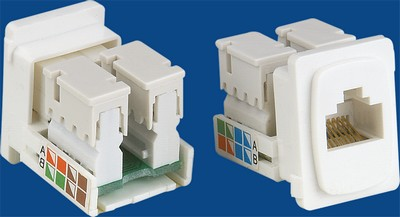 China manufacturer  TM-8110 Rj45 Connecto Cat.5E Nerwork Data keystone jack  company