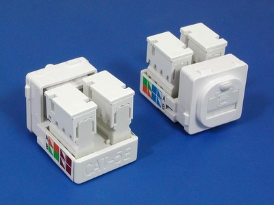 TM-8128 Cat.5E Network Cables TM-8128 Cat.5E RJ45 Network Cables Data keystone jack - Cat.6/Cat.5E RJ45 Network Keystone Jacks made in china