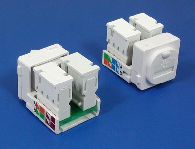 TM-8129 Cat.5E UTP Data keyst TM-8129 Cat.5E UTP Network Data keystone jack - Cat.6/Cat.5E RJ45 Network Keystone Jacks manufactured in China