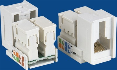 made in china  TM-8201 Cat.5E RJ45 Data keystone jack  company