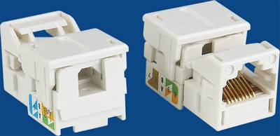 manufactured in China  TM-8302 UTP Cat.5E RJ45 Data keystone jack  company